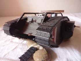 英国一战坦克模型